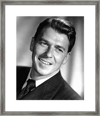 The Winning Team, Ronald Reagan, 1952 Framed Print by Everett