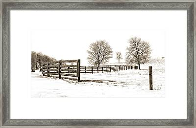The Winter Hill Gang Framed Print by Jak of Arts Photography