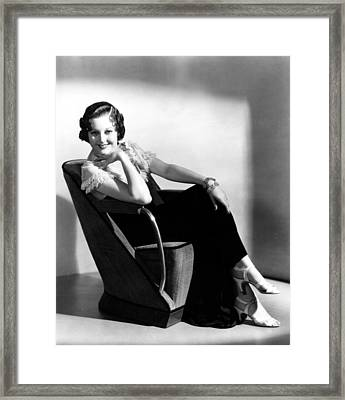 Thelma Todd, Portrait Ca. 1930s Framed Print by Everett