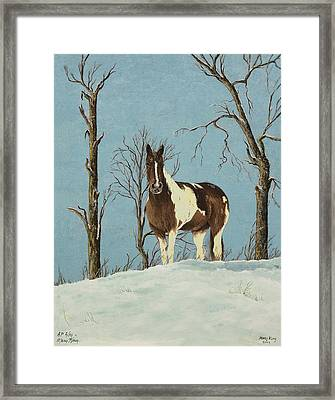 There Is A Season Framed Print by Mary Ann King