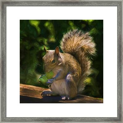 They Are Mine All Mine Framed Print by Steven Richardson