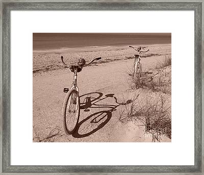 They Were Carefree Framed Print by Marie Bulger