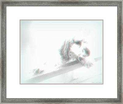 Think They'll Notice Framed Print by Lani PVG   Richmond