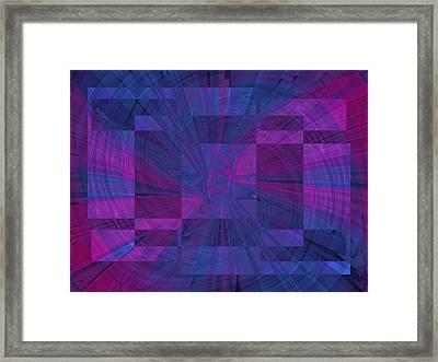 Think Framed Print by Tim Allen