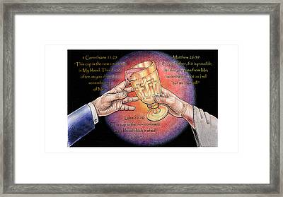 This Cup Framed Print by Paul Abrahamsen