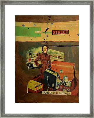 This Dissolving Street Framed Print by Adam Kissel