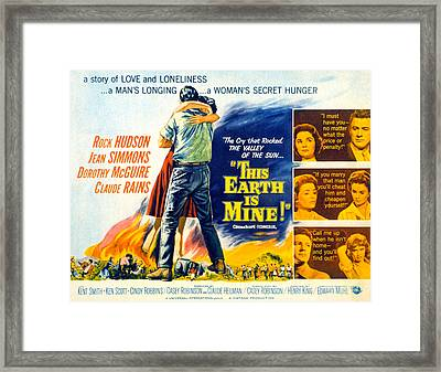This Earth Is Mine, Dorothy Mcguire Framed Print by Everett