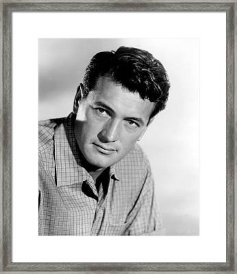 This Earth Is Mine, Rock Hudson, 1959 Framed Print by Everett