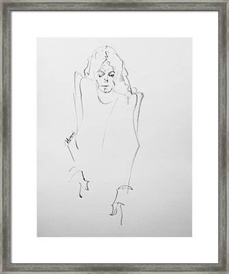This Is It Sketch Framed Print by Hitomi Osanai