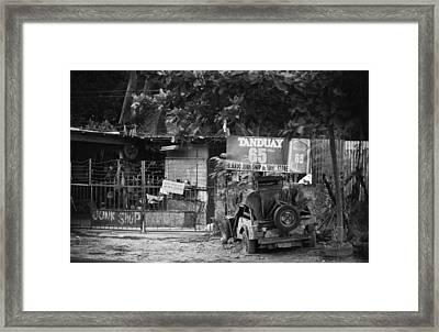 This Is The Philippines No.30 - Junk Shop Framed Print by Paul W Sharpe Aka Wizard of Wonders