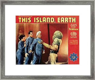 This Island, Earth, From Left Faith Framed Print by Everett