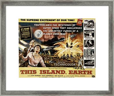 This Island, Earth, From Left Rex Framed Print by Everett