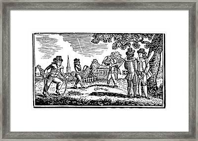 Thomas Bewick: Children Framed Print by Granger