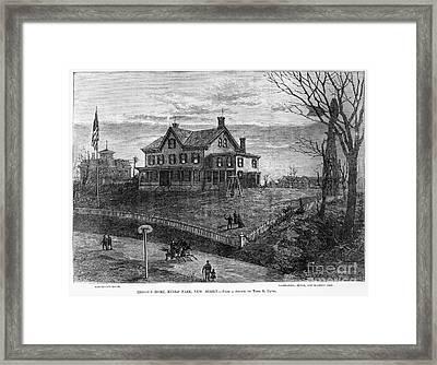 Thomas Edison Residence Framed Print by Granger