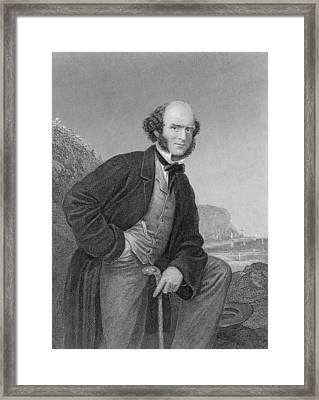 Thomas Hughes 1822-1896 English Framed Print by Everett