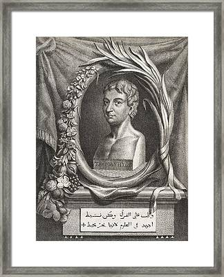 Thomas Hyde, English Orientalist Framed Print by Middle Temple Library