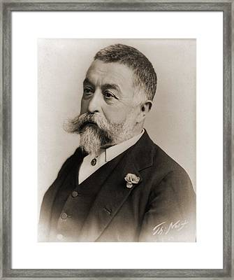 Thomas Nast 1840-1902, During His Later Framed Print by Everett