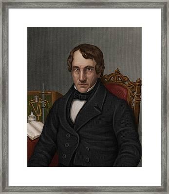 Thomas Thomson, Scottish Chemist Framed Print by Maria Platt-evans