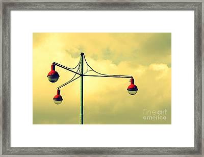 Three Framed Print by Vishakha Bhagat