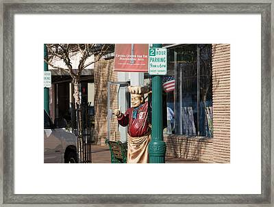 Thumbs Up Framed Print by Gilbert Artiaga