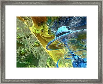 Thunderball Framed Print by Pam Blackstone