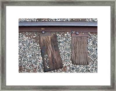 Ties Framed Print by Dan Holm