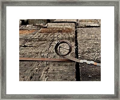 Ties Framed Print by Odd Jeppesen