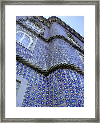 Tiling Up Framed Print by Roberto Alamino