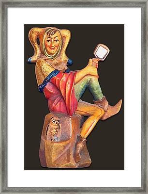 Till Eulenspiegel - The Merry Prankster Framed Print by Christine Till