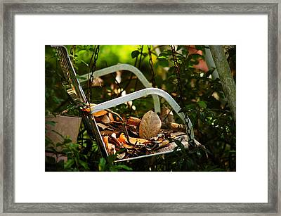 Time Fading Away Framed Print by Ken Beatty