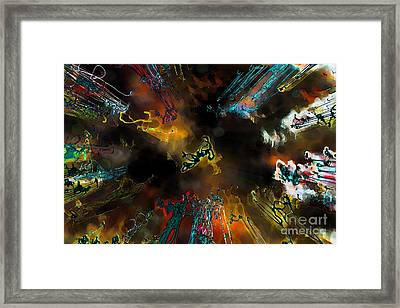 Time Flies Framed Print by Jeff Breiman