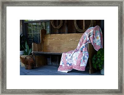 Time For Another Rest Framed Print by Carol Hathaway