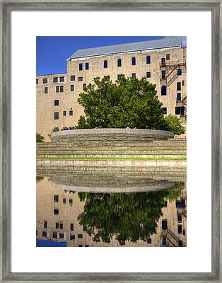 Time For Reflection Framed Print by Ricky Barnard