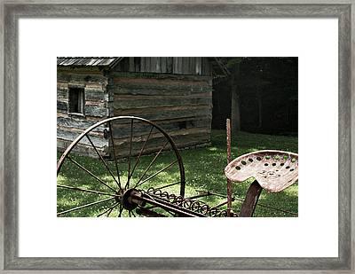 Time Gone Bye Framed Print by Wayne Stacy