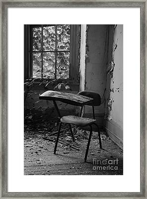 Time-out Framed Print by Luke Moore