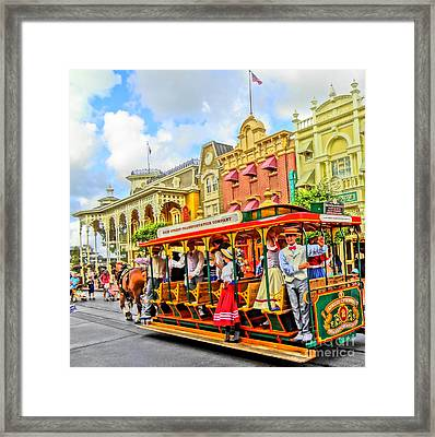 Time To Go Framed Print by Ernie Cornish