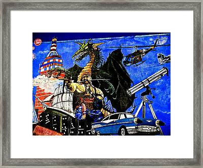 Time Travel Framed Print by Colleen Kammerer