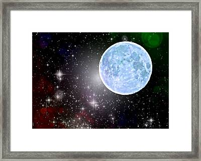 Time Travel Framed Print by Marianna Mills