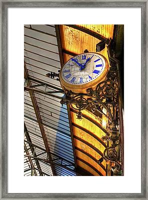 Times Framed Print by Barry R Jones Jr