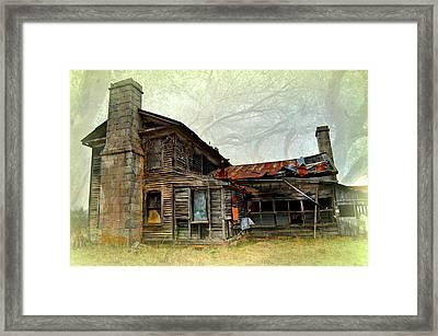 Times Long Gone Framed Print by Marty Koch