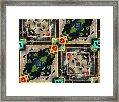 Times Square Framed Print by Anne Raczkowski