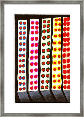 Times Square Crossing Framed Print by Al Goldfarb