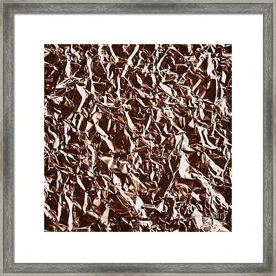 Tin Foil Framed Print by Blink Images