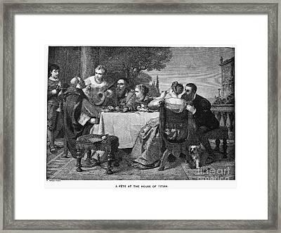 Titian (1477-1576) Framed Print by Granger