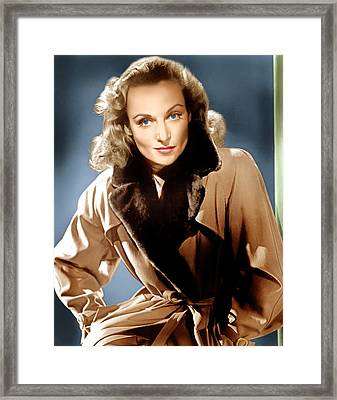To Be Or Not To Be, Carole Lombard, 1942 Framed Print by Everett