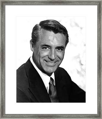 To Catch A Thief, Cary Grant, 1955 Framed Print by Everett