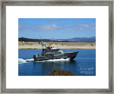 To The Rescue 2 Framed Print by Methune Hively