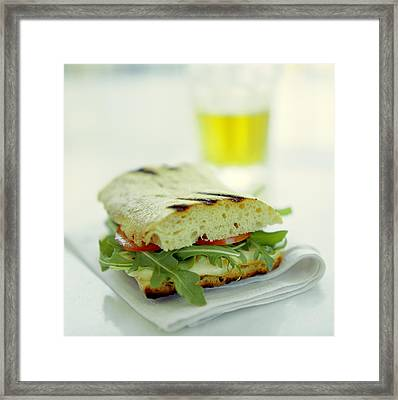 Toasted Cheese Sandwich Framed Print by David Munns