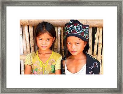 Together Framed Print by Danny Van den Groenendael