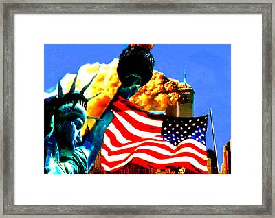 Together We Stand Framed Print by Rom Galicia